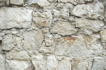 kamienny  stary mur