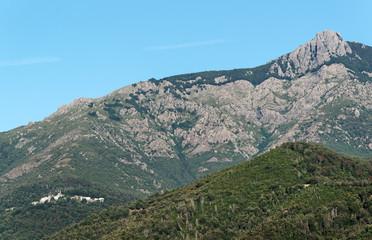 village de Castagniccia en haute corse