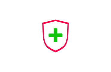 Shield Cross Logo