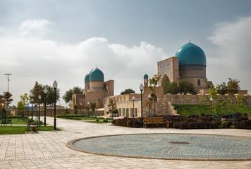 Shakhrisabz, Uzbekistan. Ancient complex Dorut Tilavat