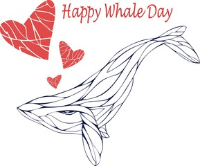 Happy whale day
