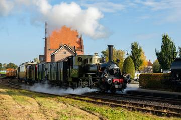 Authentic steam train