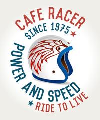 Cafe racer helme
