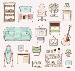 Household icons handmade