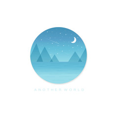 Night another world