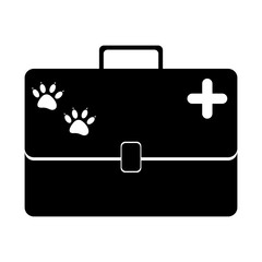 Pet veterinary symbol icon vector illustration graphic design