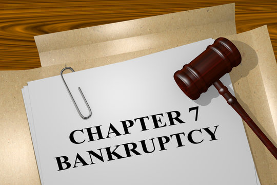 Chapter 7 Bankruptcy concept