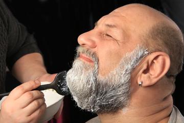 adult man color beard