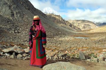 Tibetan. Illustrative editorial.