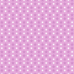 Pink pattern with stars.