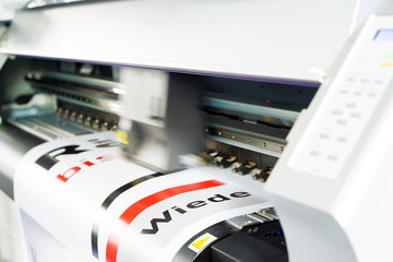 Digitaldruck auf Klebefolie / Werbetechnik