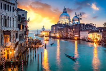 Wall Murals Venice Venedig bei Sonnenuntergang