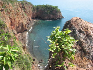 Scenic viewpoint of Koh Talu island in Thailand.