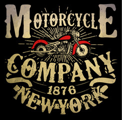 motorcycle t-shirt graphic