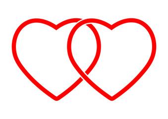 heart icon symbol vector