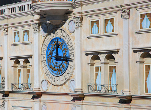 A Huge Wall Clock On The Exterior Of Building Stock Photo And Royalty Free Images On Fotolia