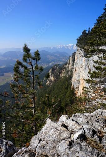 Hohe wand sicht zu schneeberg nieder sterreich for Goldene hohe schneeberg