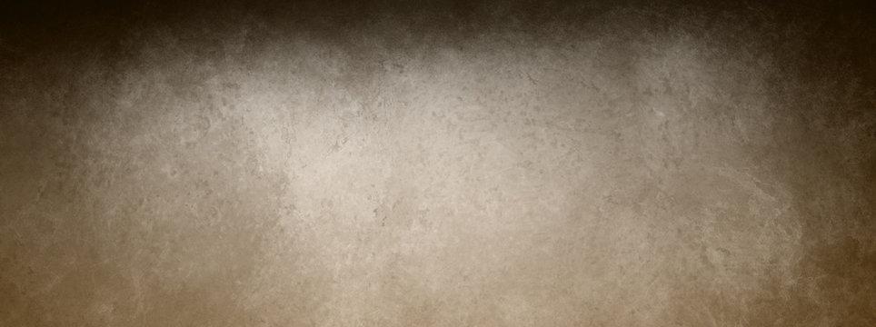 elegant brown vintage background with black shadow border grunge, coffee color marbled leather texture illustration