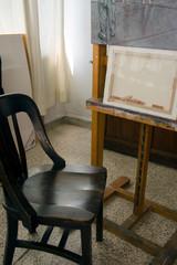 estudio de pintor