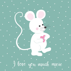 mouse love pattern