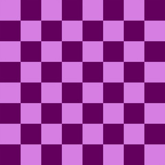 Purple Chess board 8 by 8 grid, High resolution background and 3D repeatable texture