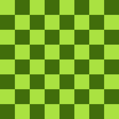 Green Chess board 8 by 8 grid, High resolution background and 3D repeatable texture
