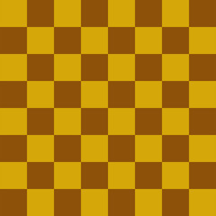 Mustard browna and yellow Blue Chess board 8 by 8 grid, High resolution background and 3D repeatable texture