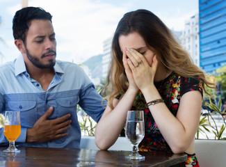 Paar mit Beziehungsproblemen