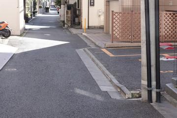住宅 東京都心住宅密集地 新築時のセットバックイメージ