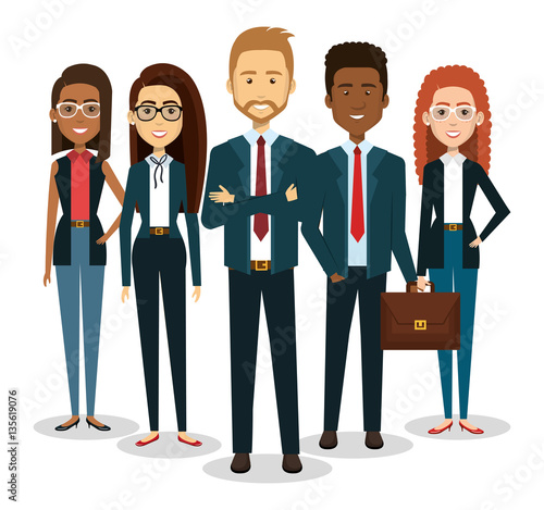 "Crowd Of Indian Women Vector Avatars Stock Vector: ""business People Avatars Icon Vector Illustration Design"