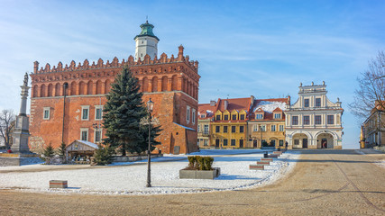 Obraz Old Town, Sandomierz, Poland - fototapety do salonu