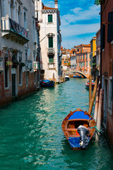 Channel in Venice, Italy