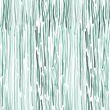Hand drawn seamless watercolor pattern with seaweed for textile, ceramics, fabric, print, cards, wrapping