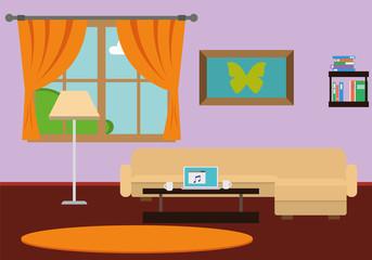 Stylish Comfortable Room Interior