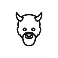 devil icon.