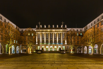 The town hall in Wuppertal-Barmen