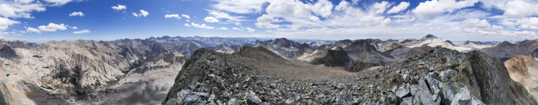 Black Giant Mountain Panorama