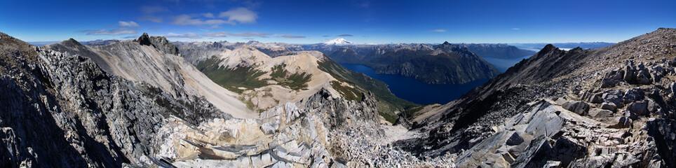 Patagonia Landscape Panorama