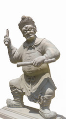 white chinese giant statue