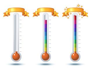 Achievement Thermometer