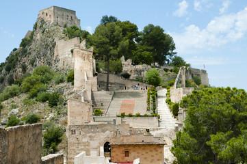 Castle of Xativa - Spain