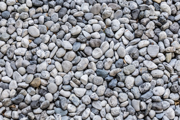 round pebble stone texture background