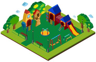 3D design for playground