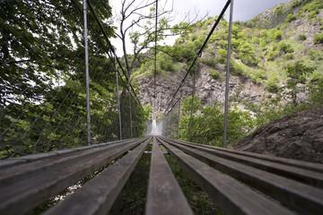 Mountain Bridge in Azerbaijan