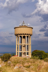 Reservoir Northcliff Water Tower Late Afternoon