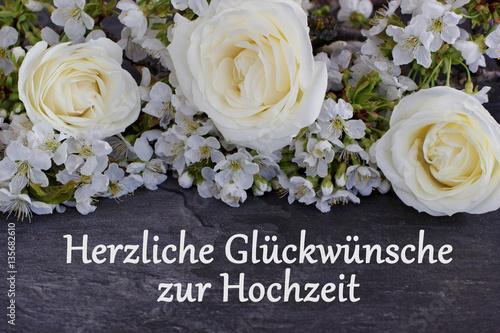 Herzlichen Gluckwunsch Zur Hochzeit Stockfotos Und Lizenzfreie