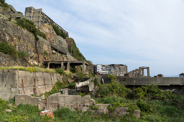 Abandoned Gunkanjima island