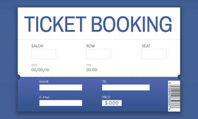 Movie Ticket Online Reservation Interface Concept
