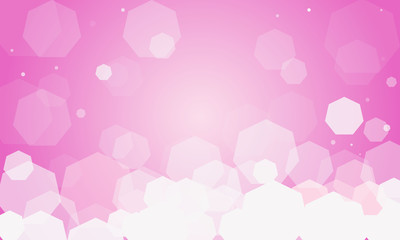gentle vector background, Valentine's Day, Women's Day
