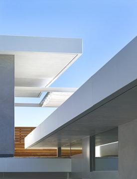 Geometric roof detail